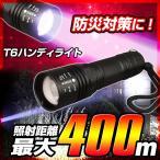 ショッピング懐中電灯 送料無料 XM-L T6 高性能 LED ハンディライト 「カラフルT6」 懐中電灯 強力 led懐中電灯 防災