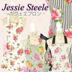 JessieSteeleエプロンフリルかわいい綿100%姫系花柄ギフト選べる6種