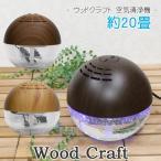 空気清浄機 花粉 アロマ おしゃれ 20畳 670ml Wood Craft ウッドクラフト L