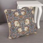 クッションカバー 45×45 おしゃれ ゴブラン 姫系 雑貨 かわいい 花柄