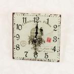 掛け時計 置き時計 インテリア ガラス 6513