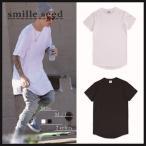 Tシャツ メンズ 半袖 無地 オーバーサイズ ビッグシルエット 全2色