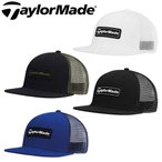 TaylorMade [テーラーメイド] LS トラッカーフラットビル キャップ メンズ KY703