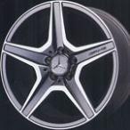 【ベンツ用 タイヤ&ホイール】AMGスタイリング6 W204デザイン 8J-18&9J-18 と BRIDGESTONE POTENZA S001 225/40R18&255/35R18の4本セット