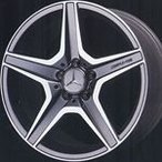【ベンツ用 タイヤ&ホイール】AMGスタイリング6 W204デザイン 8J-18&9J-18 と MICHELIN Pilot Sport3 225/40R18&255/35R18の4本セット