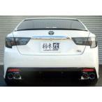【代引無料】柿本レーシング Class KR トヨタ マークX 250G G's 2WD DBA-GRX130用 左右4本出し T713121
