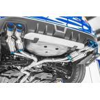ROWEN プレミアム01TR HEAT BLUE TITAN REGULAR-SPEC スバル WRX STI 4WD VAB用 フルチタン 左右4本出し センターパイプ付 1S006Z02TR