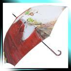 ショッピングマンハッタナーズ Manhattaner`s 中国製雨傘(長傘) ミケランジェラ、闘牛場にふたたび レッド KM-87L