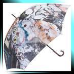 ショッピングマンハッタナーズ Manhattaner`s 中国製雨傘(長傘) 猫的解釈による名画 オレンジ KM-88L