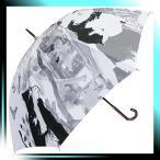 ショッピングマンハッタナーズ Manhattaner`s 中国製雨傘(長傘) BWコレクション グレー KM-84L