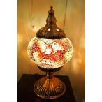 テーブルライト アンティーク おしゃれ 卓上ライト (モザイクガラスのアラビアンランプ(3色) 間接照明 スタンドライト アジアン照明 インド エスニック