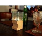 アジアン雑貨バリ♪ガラスとストーンのキャンドルホルダー(キャンドル付き)スクエア♪インテリアキャンドルスダンドキャンドルライト間接照明インテリア