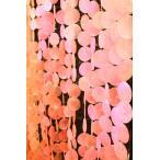アジアン雑貨 バリ (デコレーションピンクシェル(5本セット) おしゃれ インテリア エスニック 貝殻 のれん キラキラ