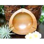 アジアン バリ 雑貨 (スワルの灰皿(3角) おしゃれ インテリア エスニック ウッド 灰皿 小物入れ