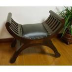 椅子イスチェアラウンジチェアアンティーク♪カルティーニチェア(S)クッション付き♪アジアン家具インテリア雑貨デザイン家具