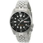 時計 メンズ Seiko Watches Seiko SKX013K2 Black Dial Automatic Divers Midsize Watch