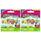 おもちゃ スクイーズ Shopkins Micro Lite Series 1 Mystery Packs / Blind Bags - 2 Pack. (Includes 2 Packages Total. Each Package Contains 1 Random Mini