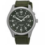 時計 メンズ  SEIKO SKA725P1,Men's Kinetic,Military Look,Stainless Steel Case,Fabric Strap 100m WR,SKA725