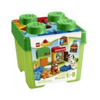 ショッピングSelection レゴ LEGO DUPLO Creative Play 10570 All-in-One-Gift-Set For Your Kids Includes A Cat, Dog, Window Element And Selection Of LEGO DUPLO bricks Order