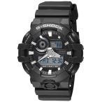 時計 メンズ  Casio G-shock Ana Digi All Black Men's Watch, 200 Meter Water Resistant with Day and Date GA-700-1B
