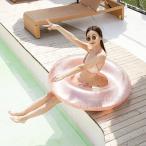 浮き輪 大人用 丸型 浮輪 フロート うきわ インスタ映え 大き目 キラキラ 大きい 水遊び 遊具 かわいい 可愛い 夏 海 プール ビーチ おしゃれ 最安 90 120
