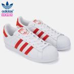 アディダス スーパースター レディース スニーカー レッド ホワイト adidas SUPERSTAR BZ0191 ads77