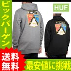 秋新作 パーカー HUF ハフ BADGE PULLOVER バッジ プルオーバー パーカー【huf111】