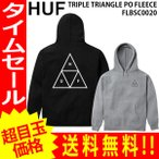 ショッピングFleece HUF ハフ パーカー プルオーバーパーカー TRIPLE TRIANGLE PO FLEECE FLBSC0020 メンズ レディース huf535