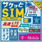 アメリカSIM サクっとSIM for iPhone トラベル7日間データ無制限