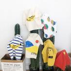 キッズ Tシャツ BOBO風 韓国子供服  男の子 女の子 メール便180円可