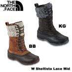 the north face/ザ・ノース・フェイスレディース スノーブーツW Shallista Bootie Lace MidWシュリスタレースミッドNFW01472【あすつく対応_北海道】