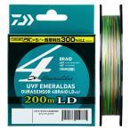 ダイワ UVF エメラルダス DURAセンサーX4 LD+Si2 200m 0.6号 / PEライン 4本 ボートエギング ティップラン イカメタル