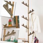 Yahoo!びーんず ヤフー店セキスイ つっぱり式ポールハンガー あいツリー 北欧スタイル ウッド TPH2-WOOD