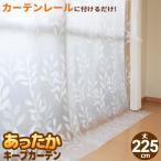 窓からの冷気を防ぐ あったかキープカーテン 掃き出し窓用 幅110×丈225cm 2枚入り