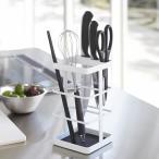 キッチンツールスタンド キッチンツール&ナイフスタンド タワー ホワイト ( キッチン小物収納 )