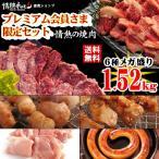 焼き肉 バーベキューセット 焼肉セット プレミアム会員限定セット 計1.52kg 約4人前 送料無料 BBQ 焼肉