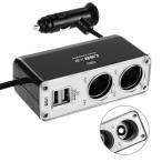 USB シガーソケット チャージャー 2連 (12V/24V 対応)