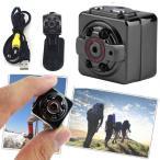 送料無料 超小型カメラ 超小型ビデオカメラ 高解像度1280x720p又は1920x1080p可選択 暗視機能 動体検知機能あり SQ8