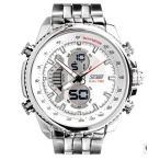 テンデンス Tendence メンズ、レディース腕時計 Waterproof Stainless Steel Band Watches for Business Man Show Two Time 正規輸入品