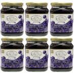 生ブルーベリー100%ぶどうジュース漬け 680g(固形量340g)×6個セット デューク種 送料無料