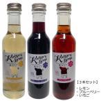 【3種セット】 無添加 かき氷シロップ 〈レモン/ブルーベリー/いちご〉 各250g 信州自然王国