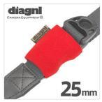 《新品アクセサリー》 diagnl(ダイアゴナル)  ニンジャバインダー25mm レッド