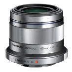 《新品》 OLYMPUS(オリンパス) M.ZUIKO DIGITAL 45mm F1.8 シルバー(マイクロフォーサーズ)〔レンズフード別売〕