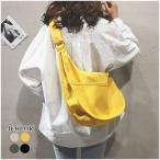 ショルダーバッグ レディース ズックバッグ かばん シンプル 無地 肩掛け 旅行 可愛い ファッション 鞄 人気 ポイント消化