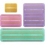 エレクトロクッキー ソルダブル ブレッドボード プリント基板 PCBボード Arduinoおよび電子工作用 金メッキ (4サイズ パステルカラーエディ