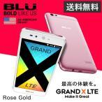 BLU GRAND X LTE【Rose Gold】
