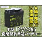 12V20Ah 高性能シールドバッテリー(WP20-12 I)(完全密封型鉛蓄電池)電動リールに!電動バイクに! UPSにも!