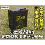 6V9Ah 高性能シールドバッテリー(WP9-6A)(完全密封型鉛蓄電池)DC6V電源機器に!子供用電動自動車に!