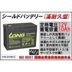 【耐久性1.5倍】12V10Ah 高性能シールドバッテリー(WP10-12SE)(完全密封型鉛蓄電池)電動リールに!電動バイクに! 12V 小型