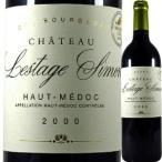 (赤ワイン・フランス・ボルドー)シャトー・レスタージュ・シモン 2000 wine
